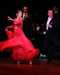 Anton & Erin performing