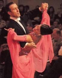 Anton & Erin at the British Open Championships