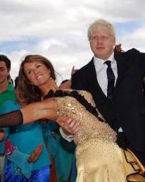 Erin Boag with Boris Johnson