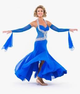 Erin Boag - blue dress
