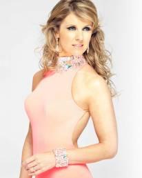 Erin Boag - pink dress
