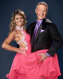 Erin Boag and Rory Bremner